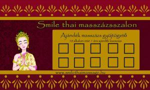 Ajándék masszázs Smile Thai Masszázs